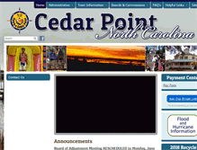 Tablet Preview of cedarpointnc.org